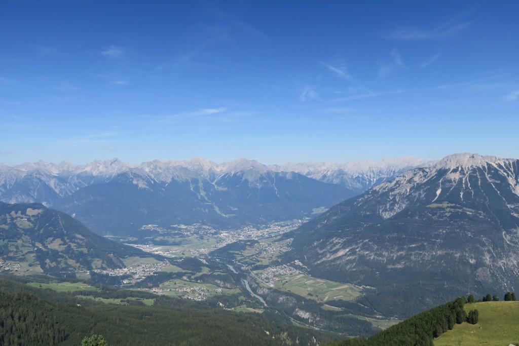 Panorama von der Maisalm auf Imst
