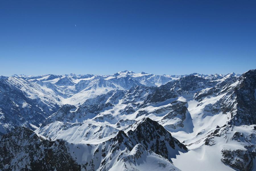 Gipfelpanorama Rofelewand