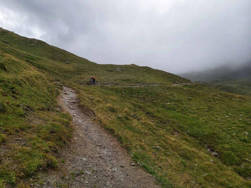 Vom Schlinigpass in Richtung Uinaschlucht