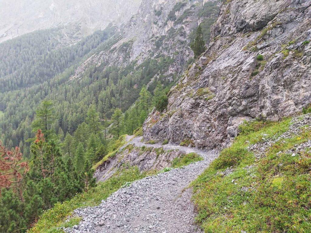 Fahrbarer Trail nach der Uinaschlucht
