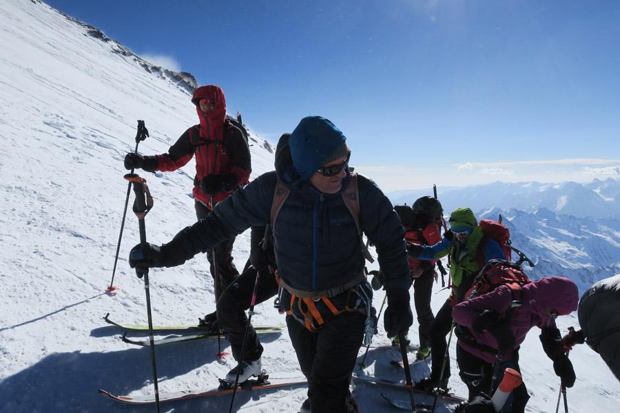 Ein guter Bergführer ist der Schlüssel zum Erfolg