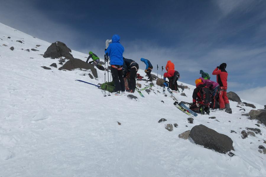Akklimatisationstour zu den Pastuchov Felsen