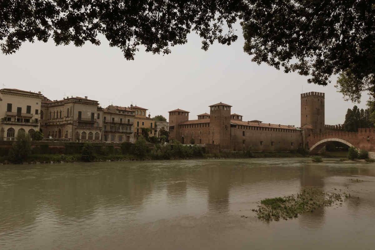 Ponte Scaligero mit Castelvecchio