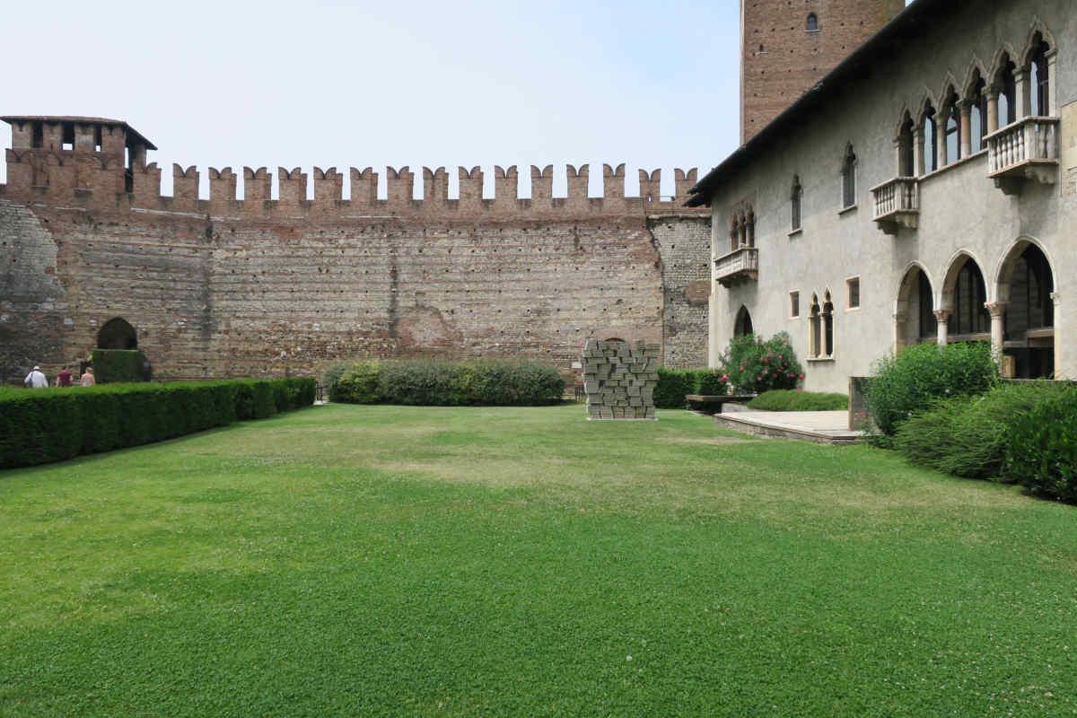 Innenhof im Castelvecchio