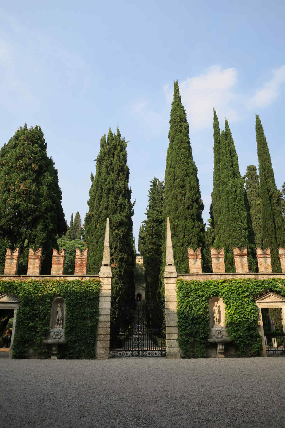 Eingang zum Giardino Giusti