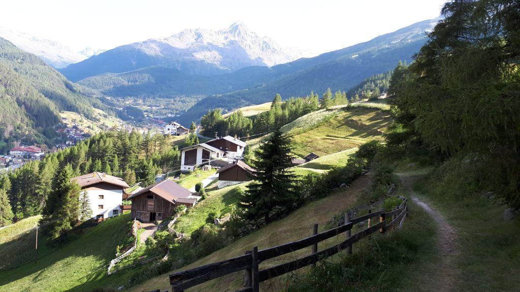 Der Trail endet im Ortsteil Leite in Sölden