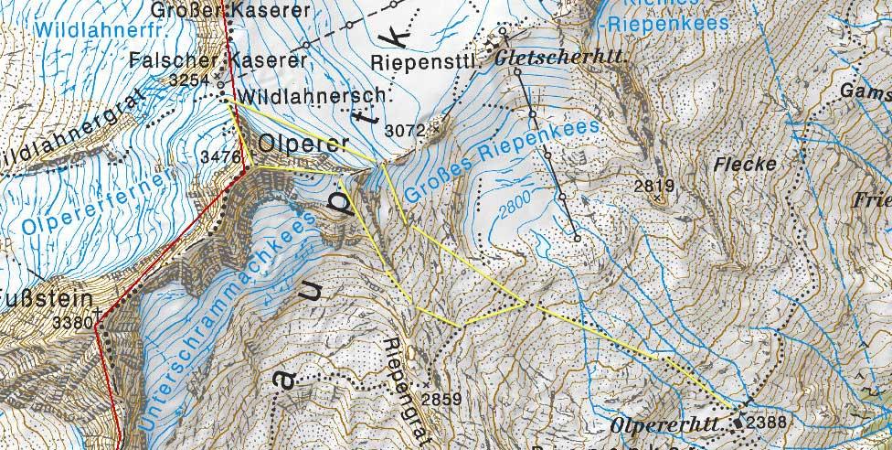 Karte Olperer