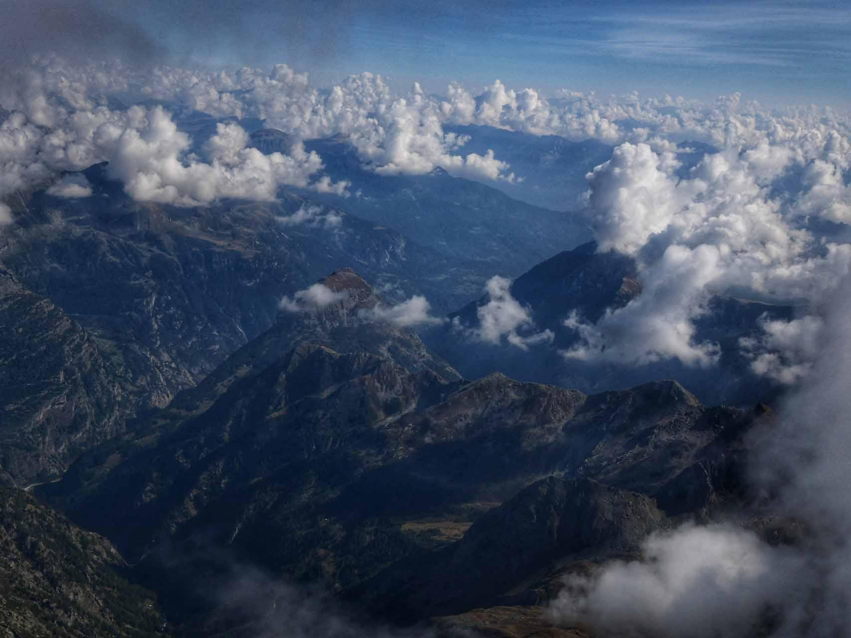 Gipfelpanorama Weissmies