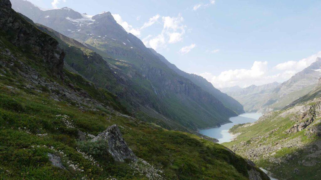 Endlich: Der Lac de Mauvoisin